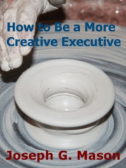 """Image with text """"How to Be a More Creative Executive"""""""