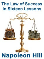 Image with text The Law Of Success In Sixteen Lessons