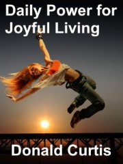 """Image with text """"Daily Power for Joyful Living"""""""