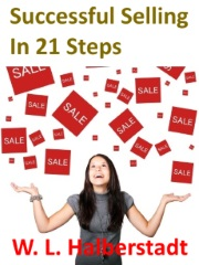 """Image with text """"Successful Selling in 21 Steps"""""""